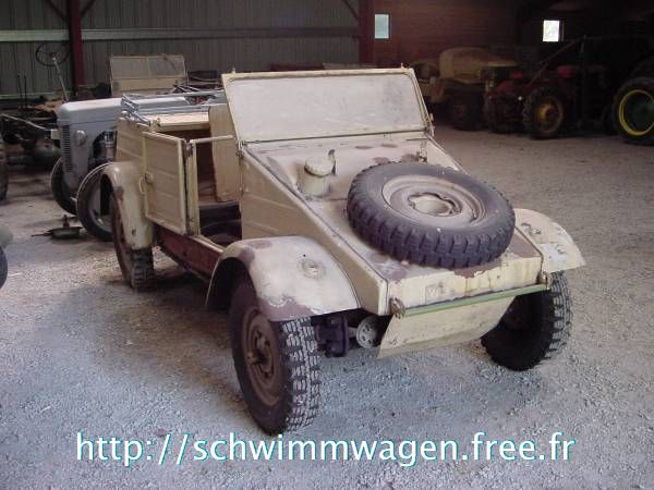 Kubelwagen just after buying it