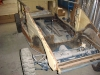 kubelwagen body starting restoration