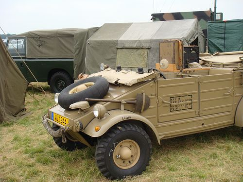 Beautiful radio kubelwagen